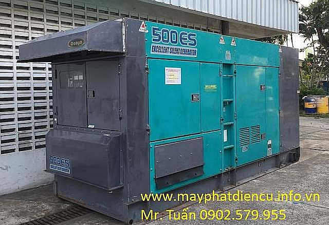 Máy phát điện cũ 500kva Denyo